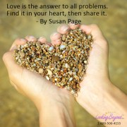 Love is the Answer - Call Looking Beyond Master Psychic Readers 1-800-500-4155 now!