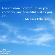 You are beautiful just as you are - Looking Beyond Master Psychics