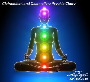 Clairaudient and Channelling Psychic Cheryl at Looking