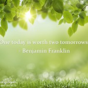 One today is worth two tomorrows - Looking Beyond Master Psychics