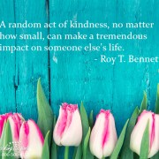 A random act of kindness - Looking Beyond Master Psychics
