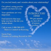 Introductory Offer - Looking Beyond Master Psychics