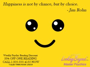 Happiness Is - Looking Beyond Master Psychics