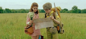 Moonrise Kingdom map reading