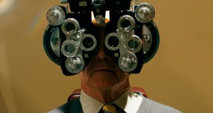 This is Martin Bonner - 1600 eye test