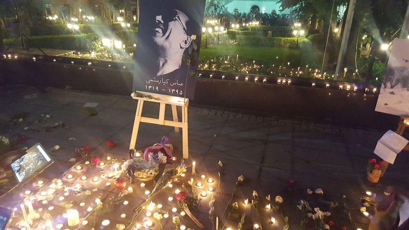 A memorial for Abbas Kiarostami at Cinema Museum 20.