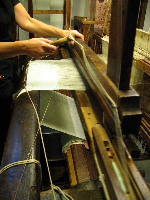 Image result for satin weaving loom images