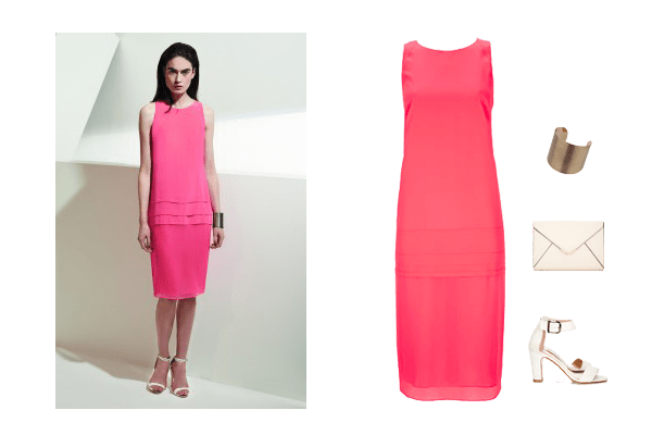 wallis w collection, Pink occasion dress