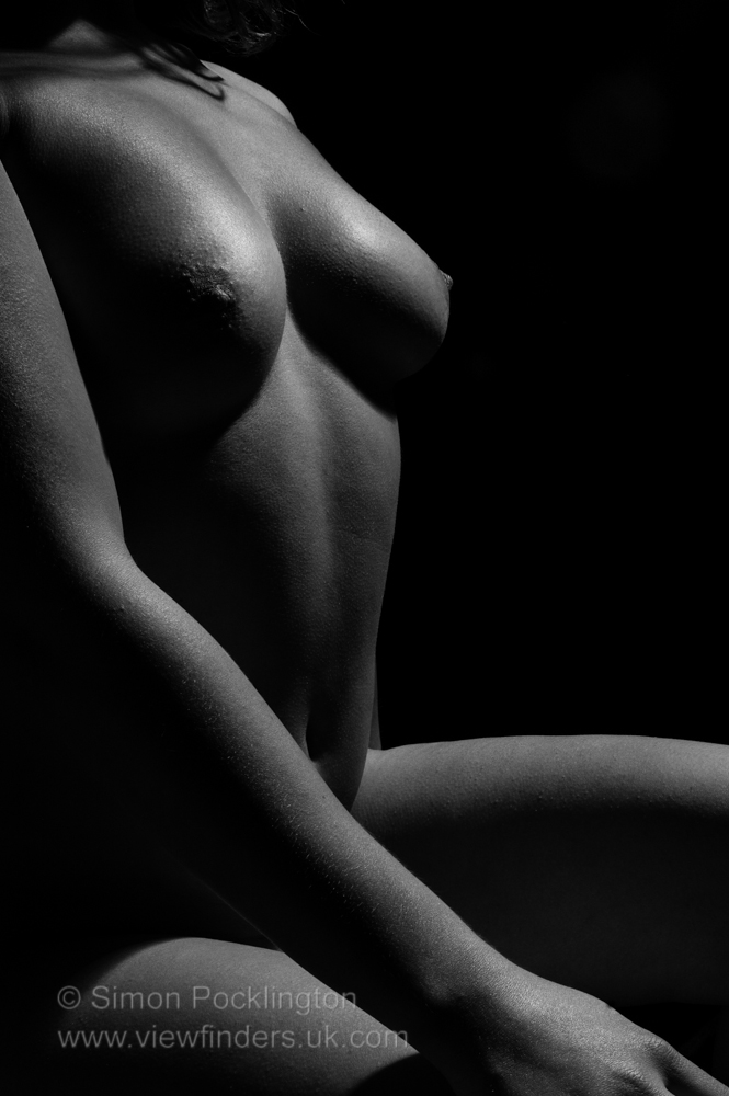 Abstract female nudes