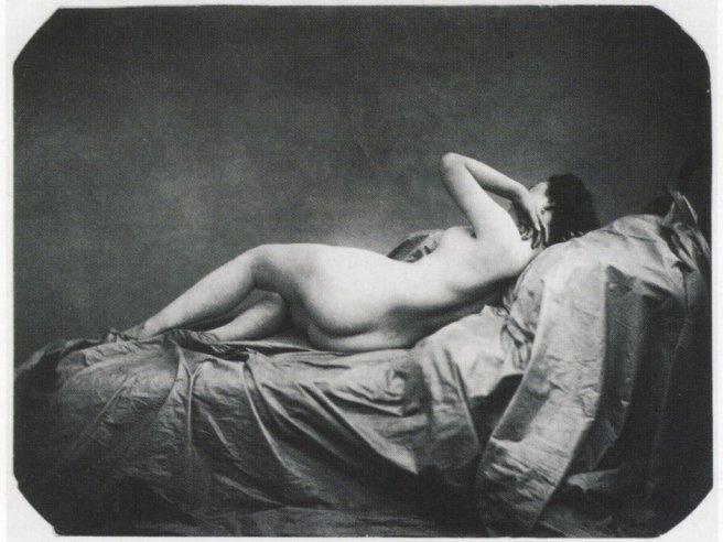 nude by Jean Louis Marie Eugène Durieu