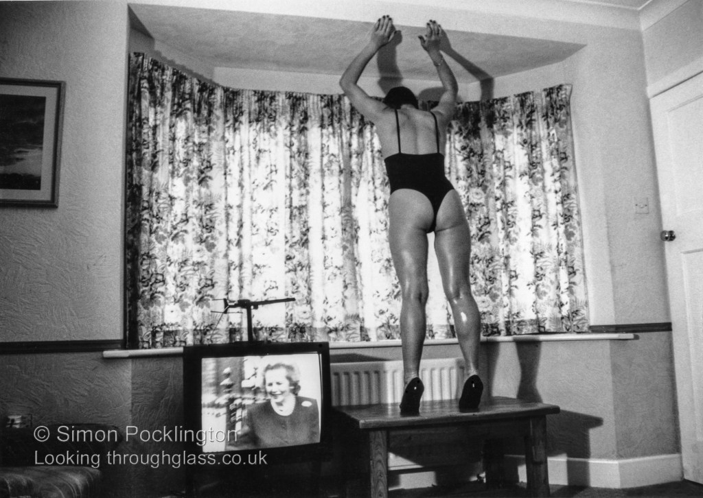 The Thatcher Years from a collection of surreal female nudes that are slightly strange