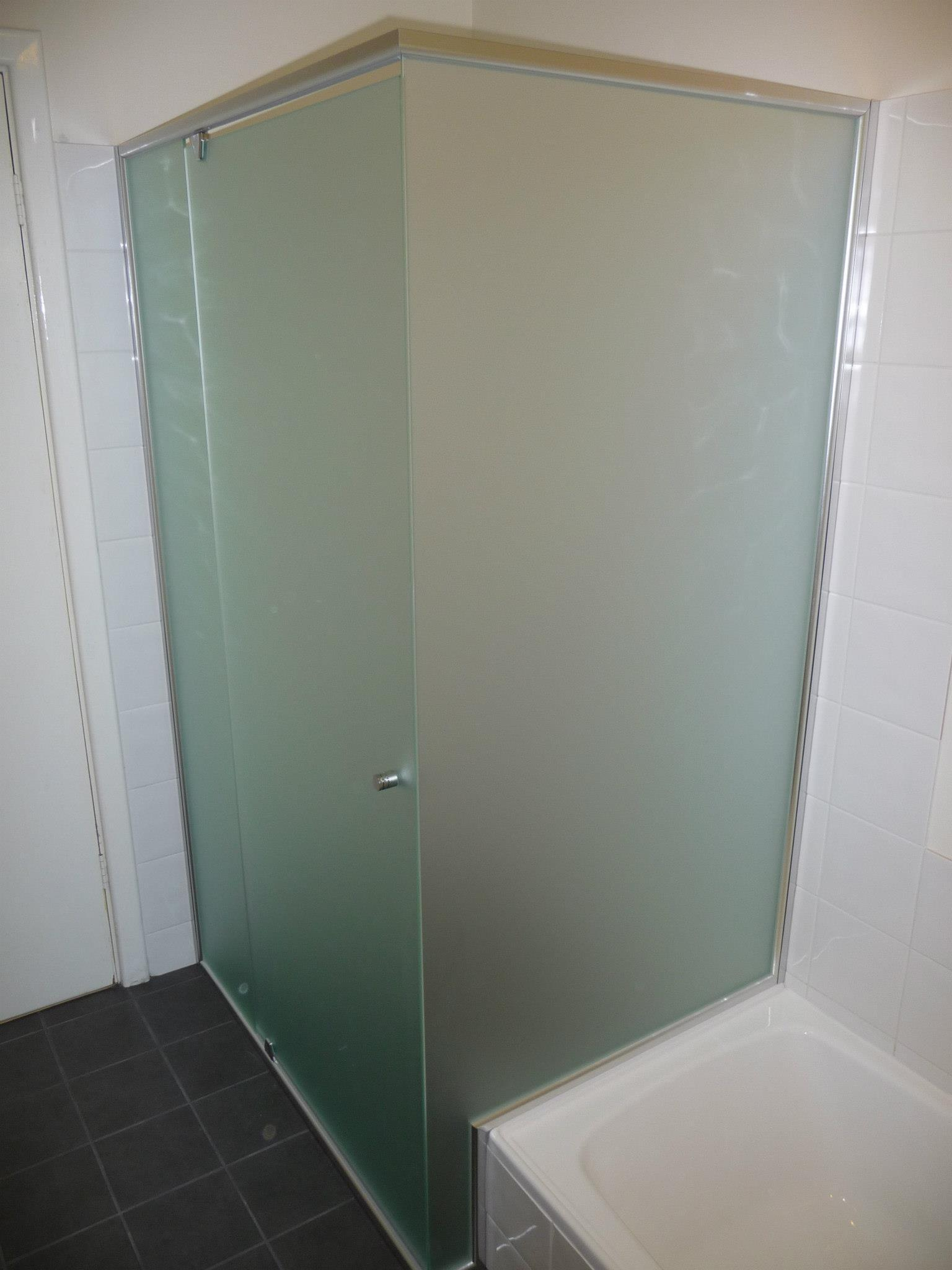 Framed  Semi Framed Shower Screens  Local Trades