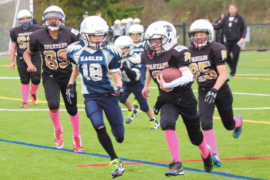 Spartan youth football program touches down in Esquimalt
