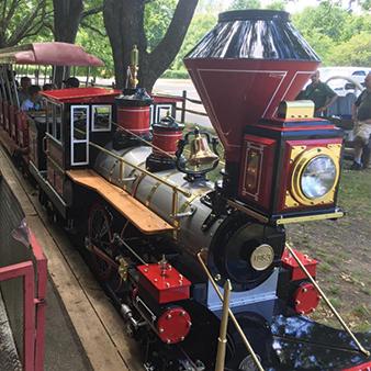 steamer train look park