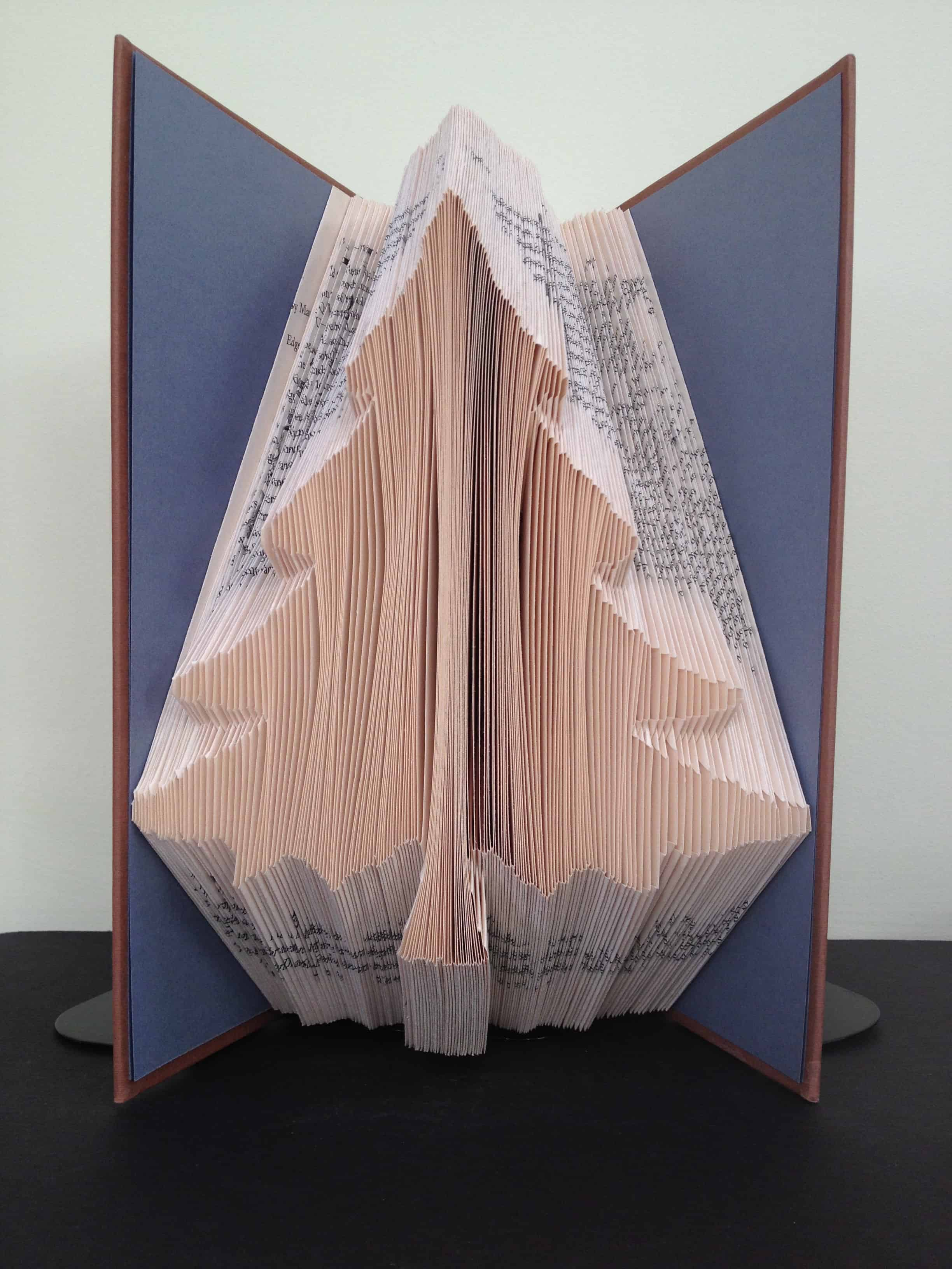 christmas tree book folding