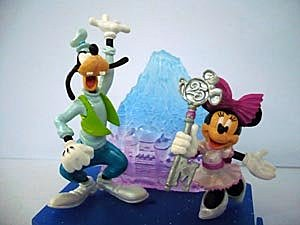 日本東京迪士尼25週年限定公仔   孟小靖's 迪士尼公主城堡Disney Princess Castle