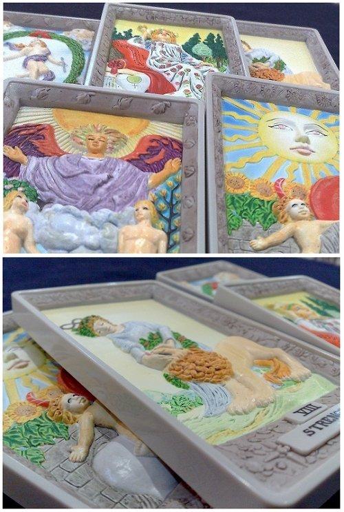2009香港尋塔羅-2D立體偉特塔羅牌 | 塔羅事典 Look Tarot Blog 孟小靖的塔羅牌情報資訊站