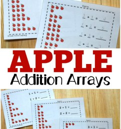 Apple Array Practice for Second Grade - Look! We're Learning! [ 1102 x 735 Pixel ]