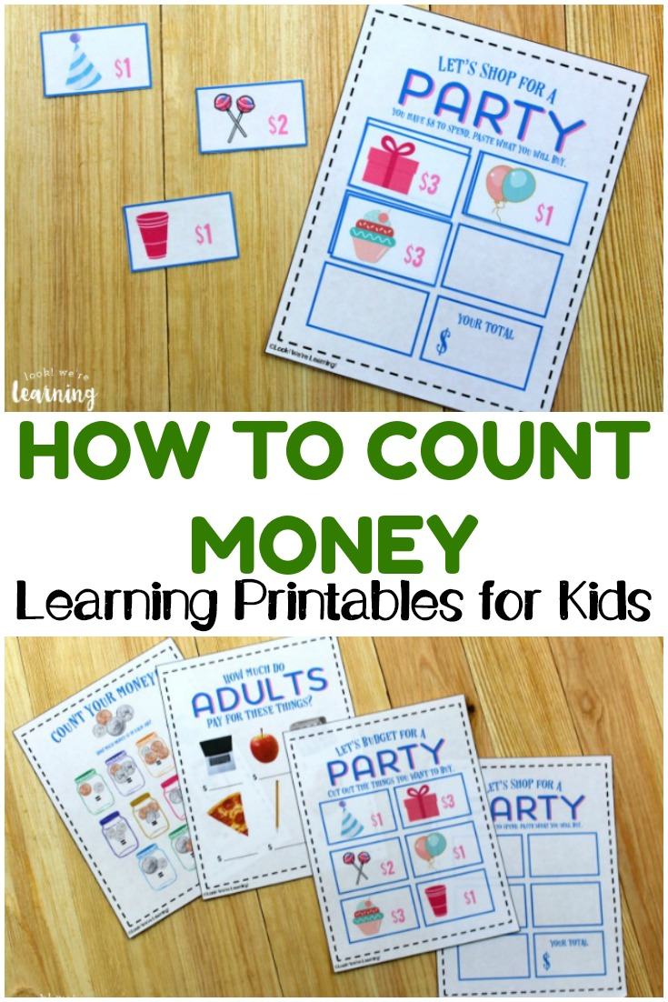 hight resolution of Money Activities for Second Grade