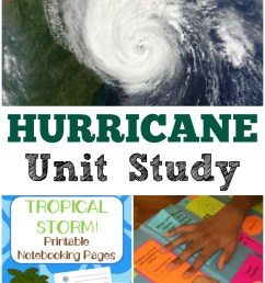 learn about extreme summer weather with this hurricane unit study for kids  [ 735 x 1100 Pixel ]