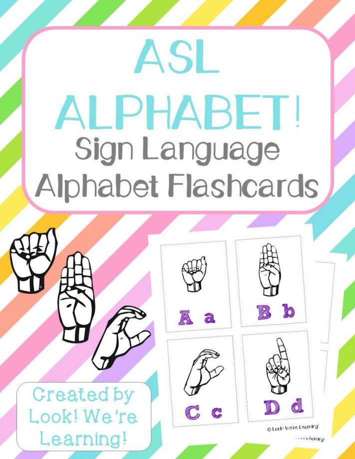 graphic regarding Sign Language Alphabet Printable Flash Cards titled asl flash playing cards free of charge printable