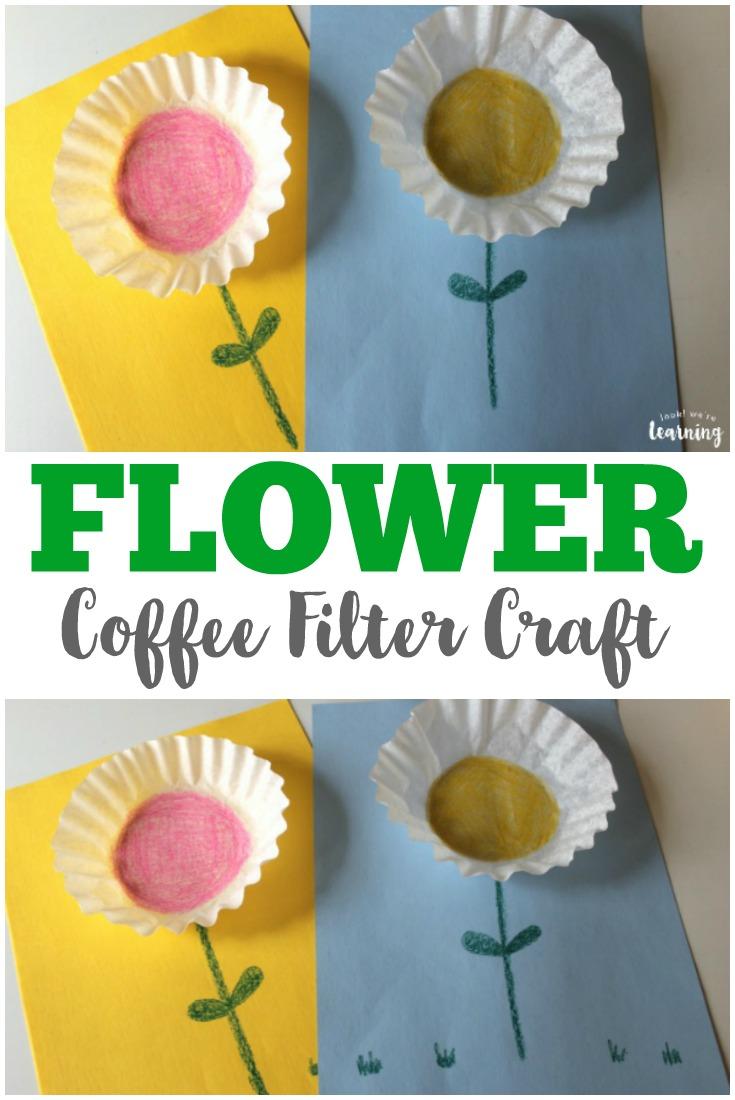 easy coffee filter flower