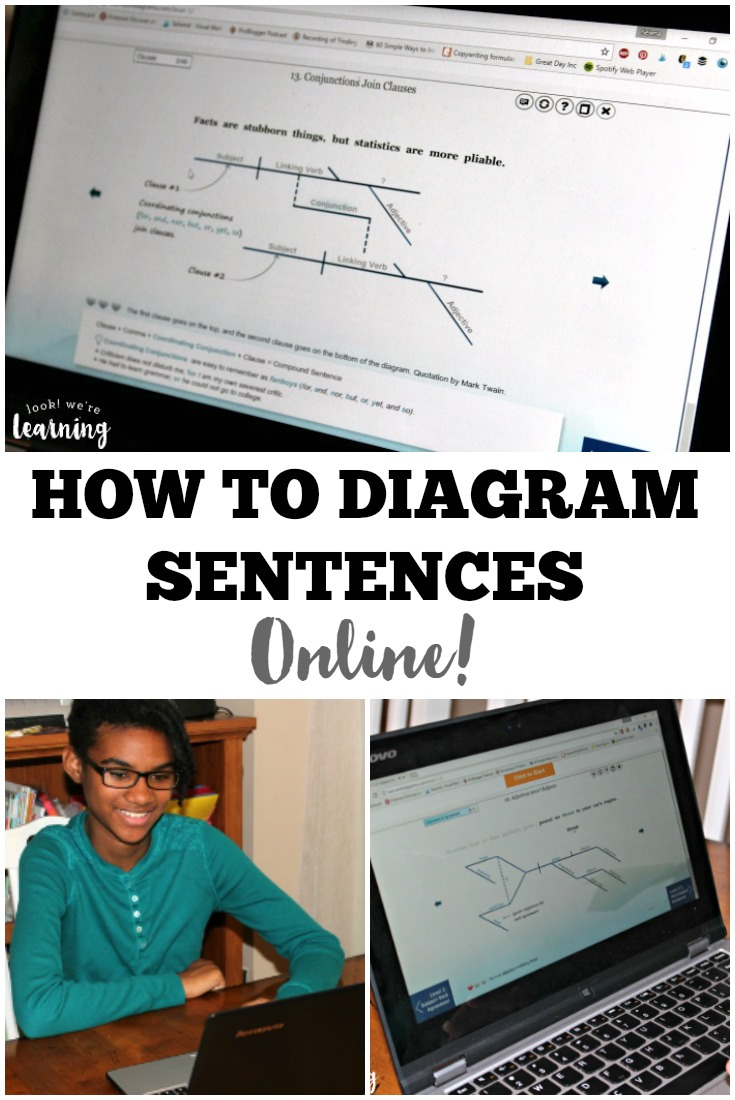 diagram my sentence online learn with diagrams: diagramming for kids - look! we're learning!