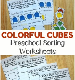 Preschool Worksheets: Preschool Sorting Worksheets - Look! We're Learning! [ 1102 x 735 Pixel ]