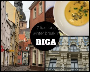 Winter break in Riga