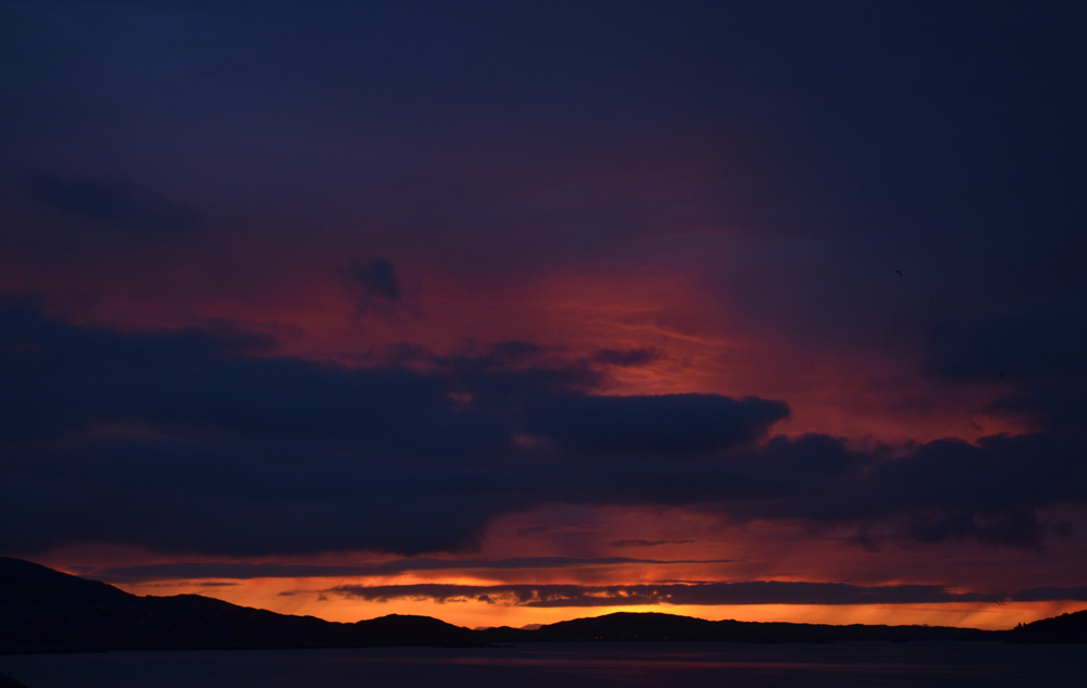Sunrise over the Outer Hebrides