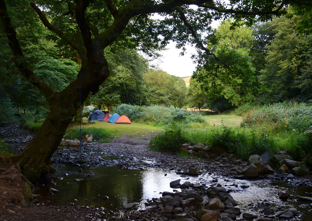 A summer microadventure in Exmoor National Park