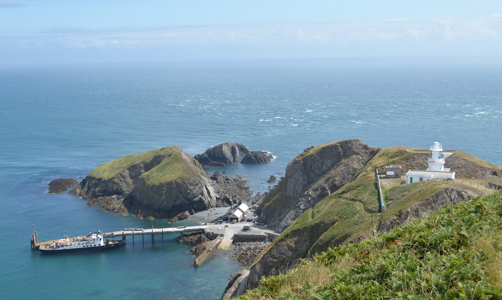 Lundy Island Lighthouse Views