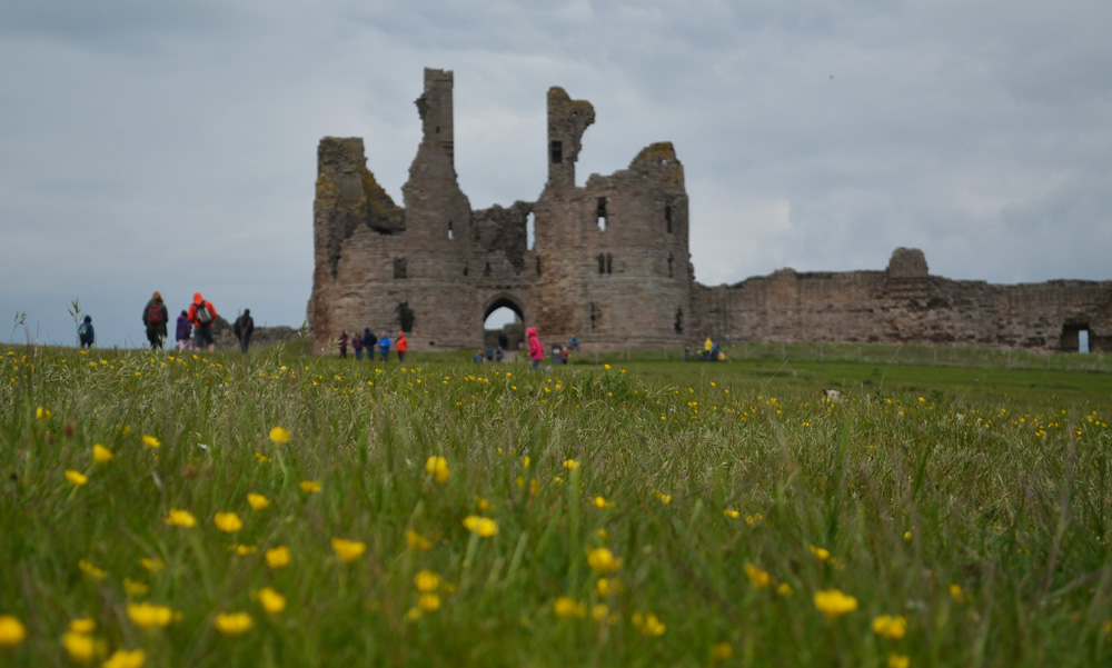 a two day mini adventure to Northumberland by public transport
