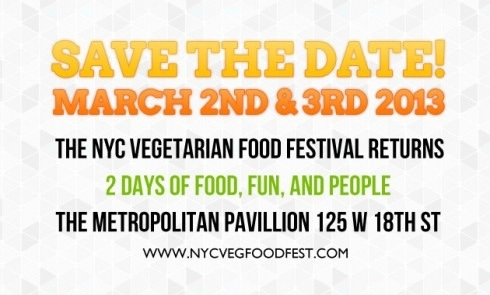 NYC Vegetarian Food Festival 2013