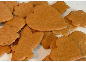 Prairie Grass Cafe's Ginger Cookie Recipe