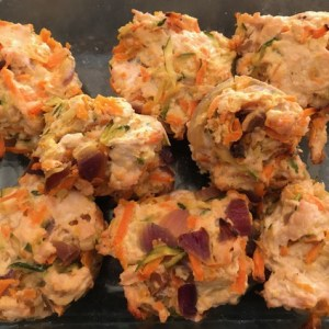 Recipe: Turkey Zucchini Carrot Meatballs