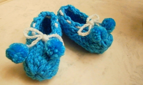 December Wallpaper Cute How To Loom Knit Baby Booties Loomahat Com