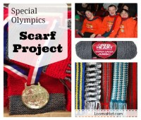 Special Olympics Scarf Project - LoomaHat.com