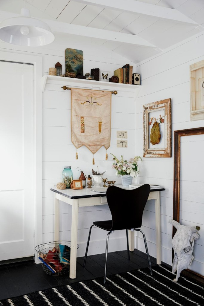refurbished kitchen table corner sinks 41 sophisticated ways to style your home office - loombrand