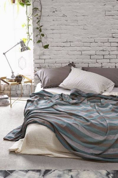industrial grey bedroom 43 Stylish Industrial Designs For Your Home - Loombrand