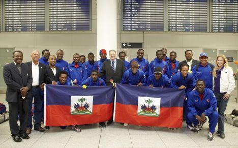 Ran Allstars gegen Haiti