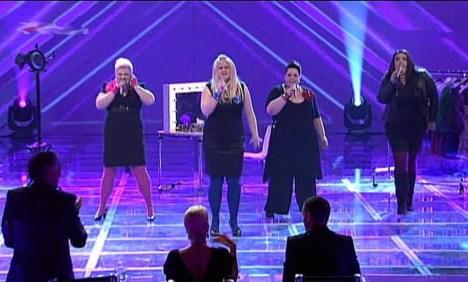 "X Factor 2010: Big Soul strippten sogar zu ""Free your Mind"" - TV"