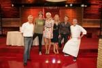 "Die ""Promi Kocharena"" mit Nadine Krüger, Fady Maalouf, Dieter Moor, Verena Kerth und Mickie Krause"