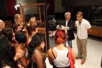 Robbie Williams sieht Sarah und Esra in der POPSTARS-Band