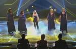 X Factor 2010: Big Soul als Background-Sängerinnen für Shakira - TV News