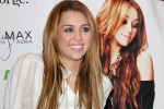 """Miley Cyrus - Miley Cyrus CDs and DVD Signing and """"Miley and Max"""" Clothing Line Launch at ASDA"""