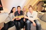 """""""Das perfekte Promi Dinner"""": Allegra Curtis, Davorka Tovilo, Thorsten Nindel und Jochen Bendel - TV"""