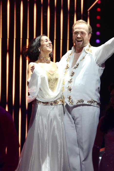 Moritz A. Sachs und Melissa Ortiz beim Tanzen