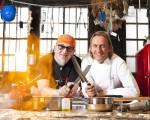 Kochen mit Knall: Stefan Marquard und Frank Buchholz mit Dampf - TV News