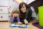 Diplom-Pädagogin Katia Saalfrank nimmt sich Zeit für Lena